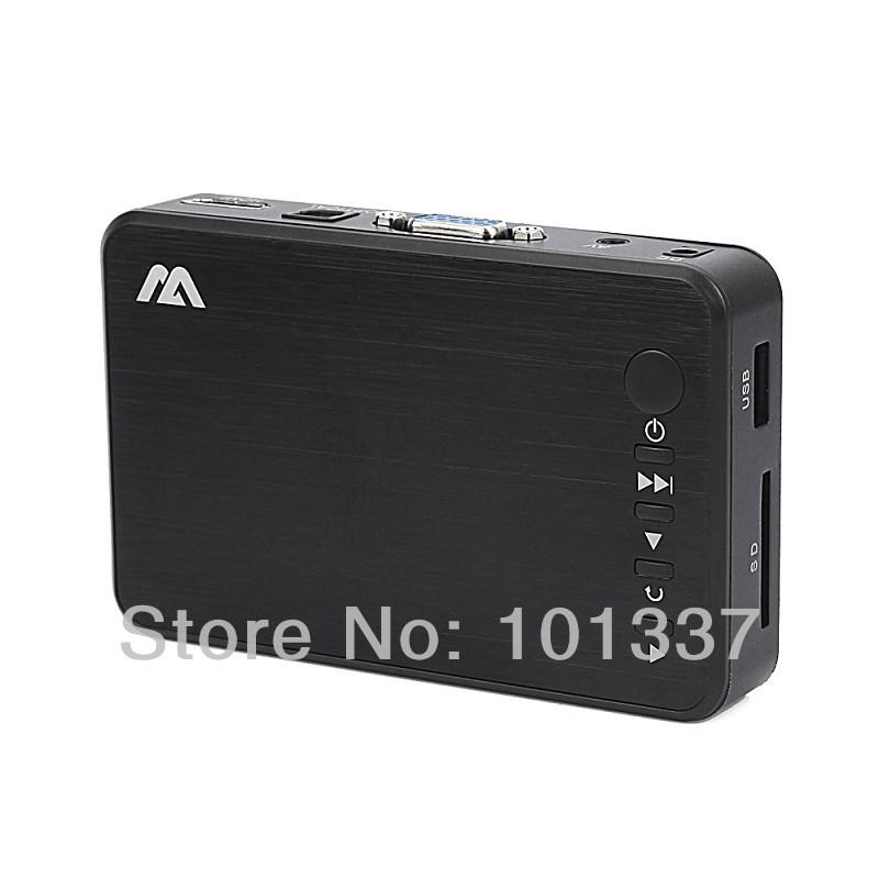 H10 – Мини видеоплеер, 1080P, Full HD, 1920X1080P, HDMI, AV, VGA, SD, USB