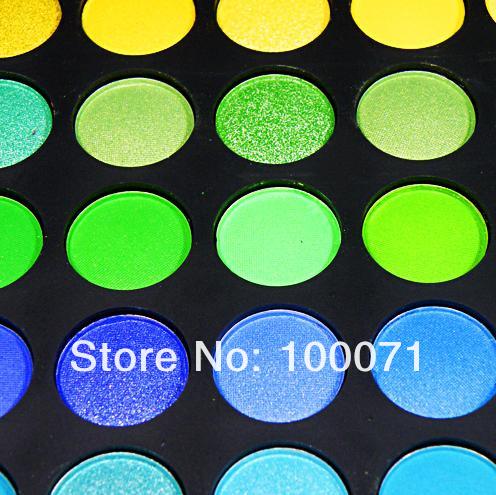 Палитра теней, 168 цветов