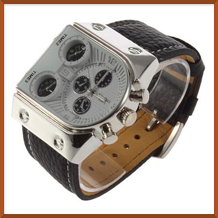 HG585 - кожанные наручные часы