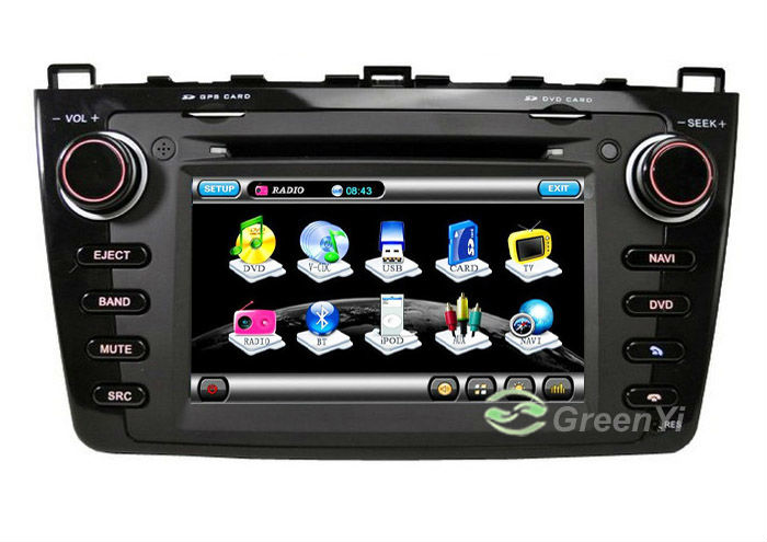 G-8912B - Автомагнитола для Mazda 6 (2008-2011), 7