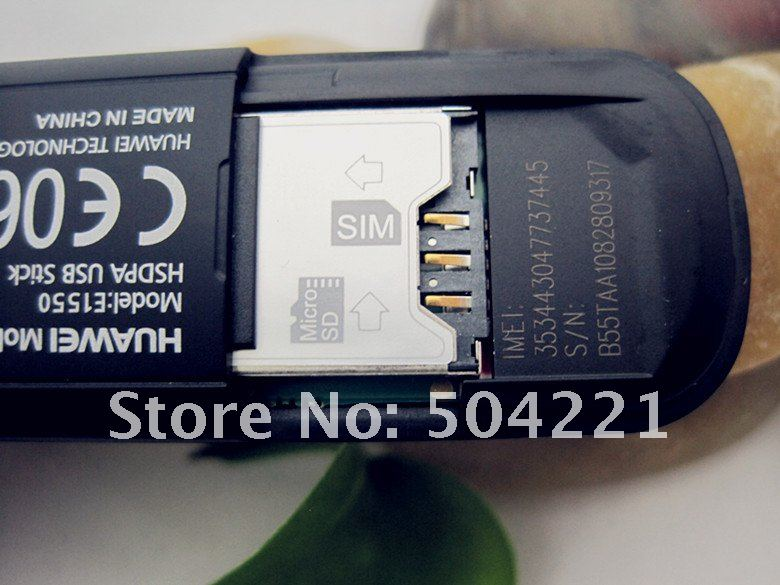 Huawei E1550 - 3G/2G Модем, HSDPA/WCDMA/EDGE/GPRS/GSM