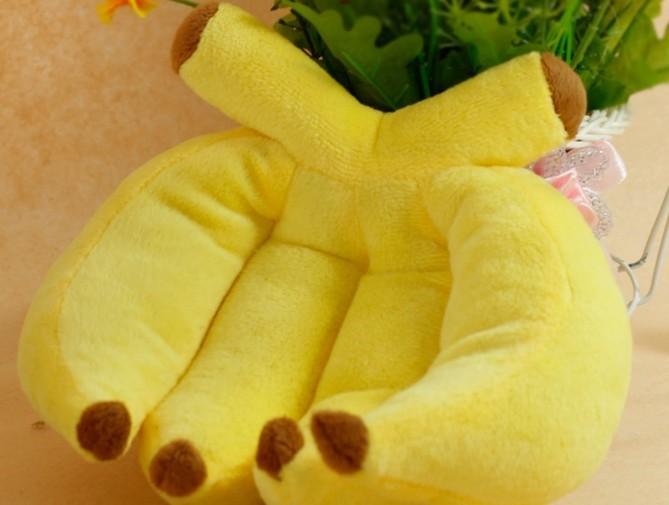 Игрушка желтый банан