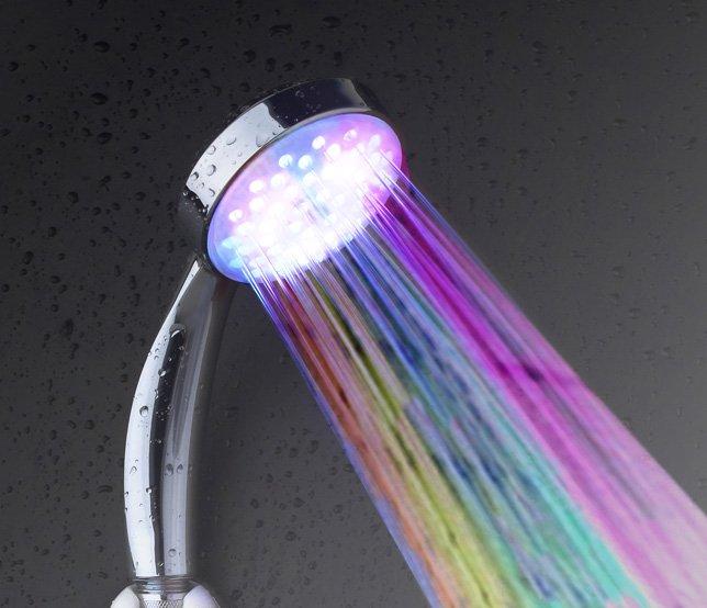 LH002 - цветная насадка на душ