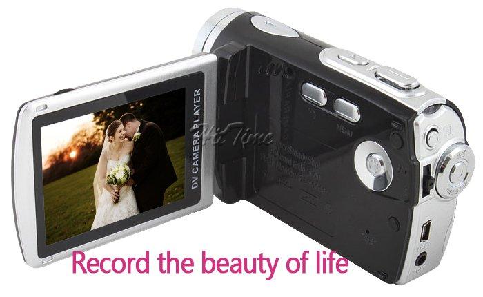 """Видеокамера - 2.8"""" ЖК дисплей, цифровое масштабирование 10X ,12 MP"""