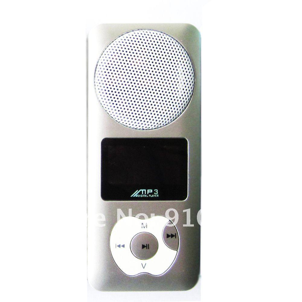 MP3 плеер – 2 ГБ, защелка, встроенный динамик, поддержка карт Micro SD, USB, наушники