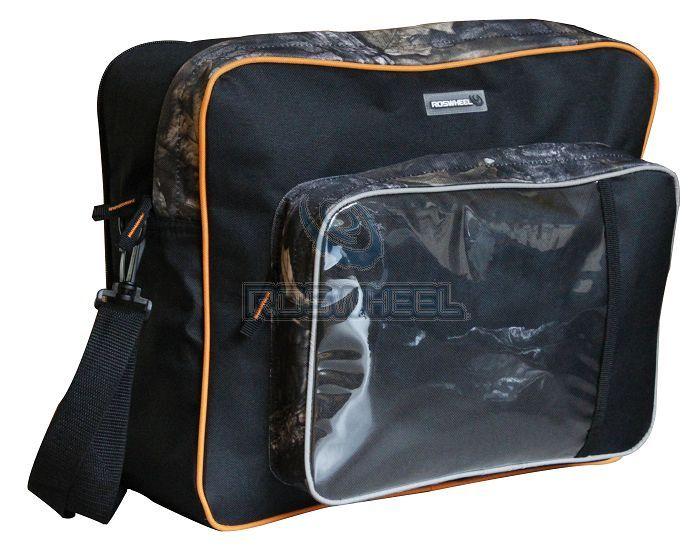 Велосипедная сумка для дальних перевозок, высокая загрузка, крепление на багажнике, несколько больших отделений