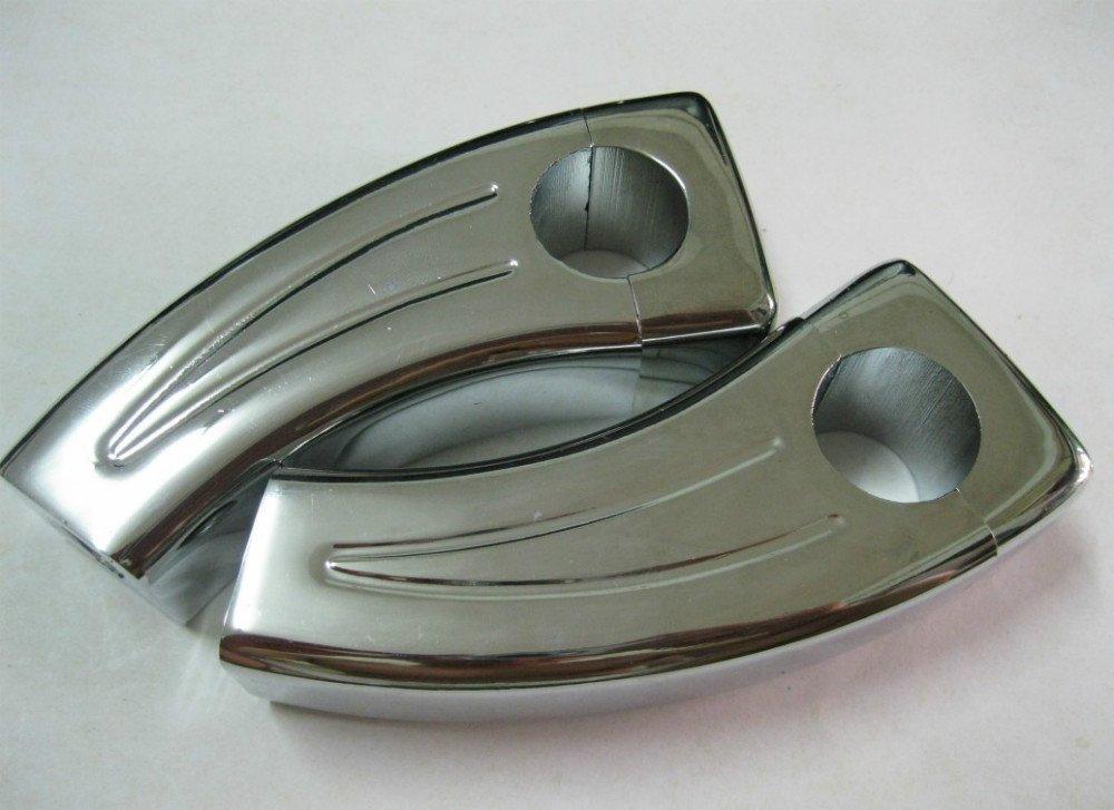 Хромированные рулевые захваты вилки для Yamaha V-max, V-Star, Honda N
