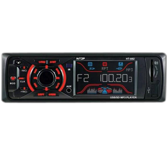 HT-882X Автомагнитола Mp3 аудио-ресивер, ФМ радио, AUX, поддержка карт USB/SD/MMC 614