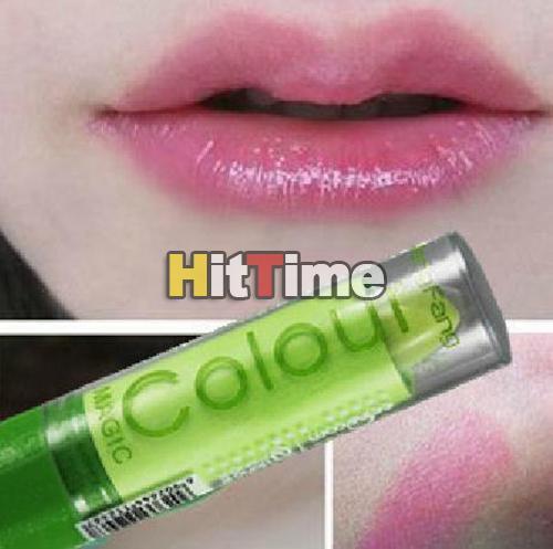 Блеск-бальзам для губ, меняющий цвет