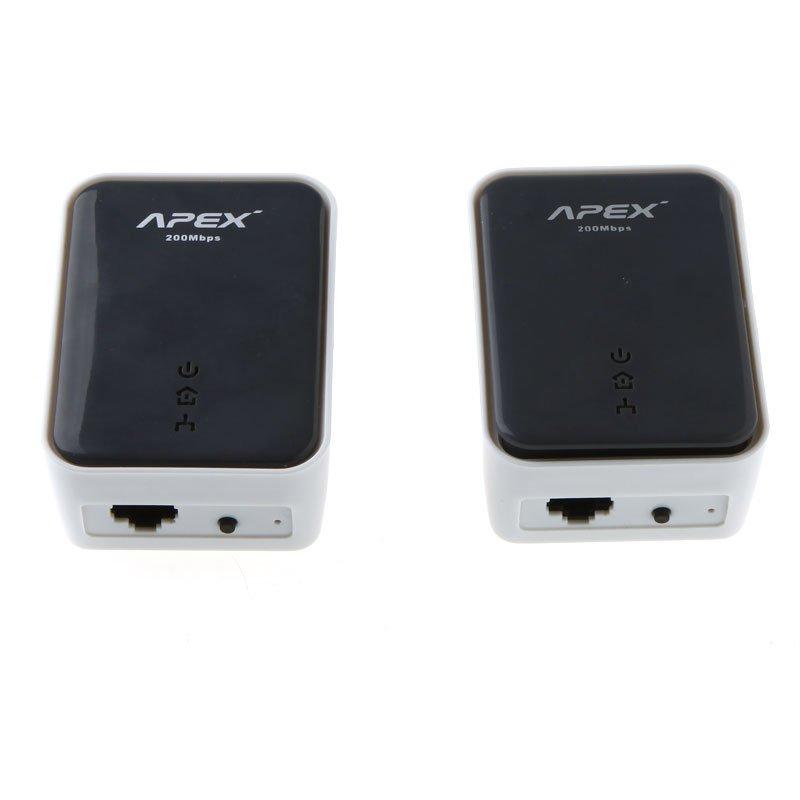 Комплект из 2 сетевых адаптеров, 200Mbps