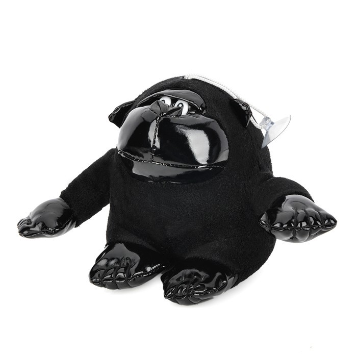 Автомобильный освежитель воздуха, игрушка орангутан, аромат древесного угля, черный