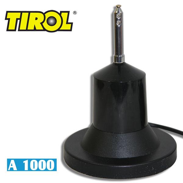 Tirol - автомобильная СВ-антенна с магнитным креплением, нержавеющая сталь, 1w,