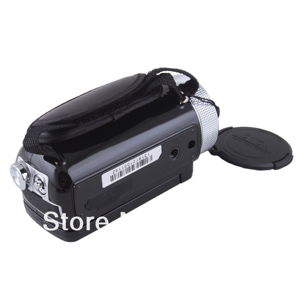 HD-55E цифровая видеокамера, 2.7-дюймовый TFT ЖК дисплей, 720P, 16МП, 16X  Масштабирование, черная