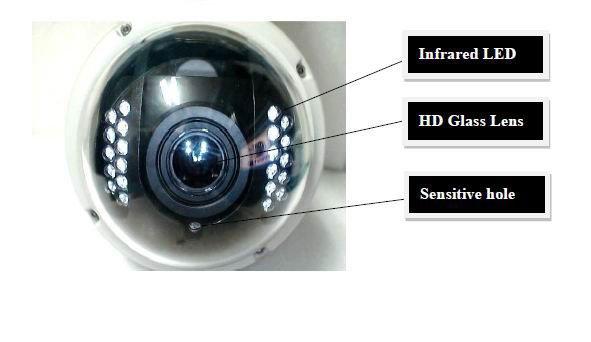 BL S155 - беспроводная IP камера, ручное масштабирование 3X, влагозащитный корпус, ночное видение