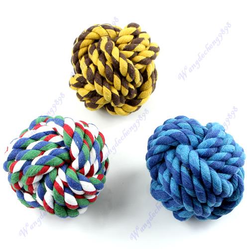Мяч из веревки для чистки зубов