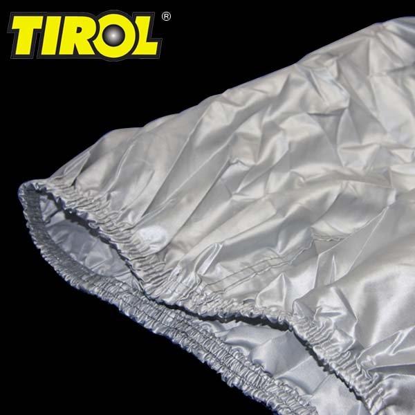 T17790 - L(a)(Large) Защитный чехол для мотоцикла, водоотталкивающий и воздухопроницаемый материал, 170T полиэстр с серебристым покрытием