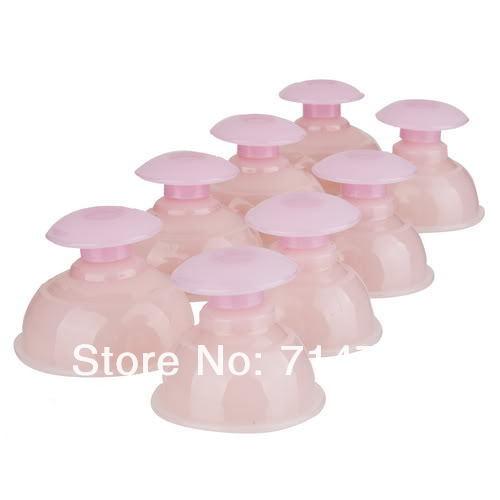 Силиконовые чашки для вакуумного массажа, 8шт