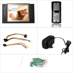 Домофон, TFT LCD, CMOS, 8