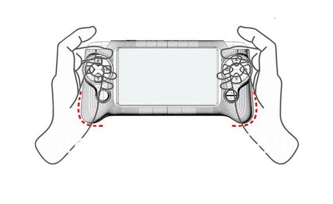 Pellet P7100 - Портативная игровая консоль, 4.3