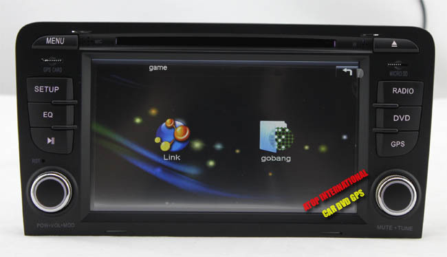 CANBUS - Автомагнитола для Audi А3, DVD, GPS, USB, Bluetooth, радио, TV + карта SD на 8GB