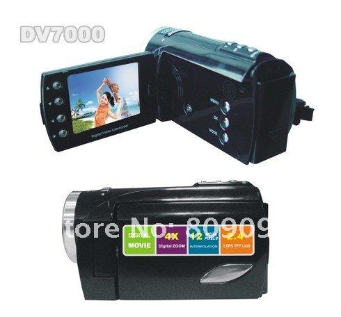 DV7000 - Цифровая видеокамера, 2.4