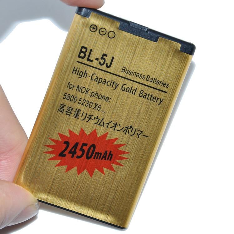 Батарея для мобильного телефона 2шт, 2450mAh, для Nokia 5230 X6 X1 C3 5800 N900