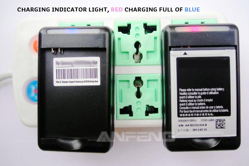 Зарядное устройство + Аккумулятор на 2450mAh для Samsung Galaxy S i9000