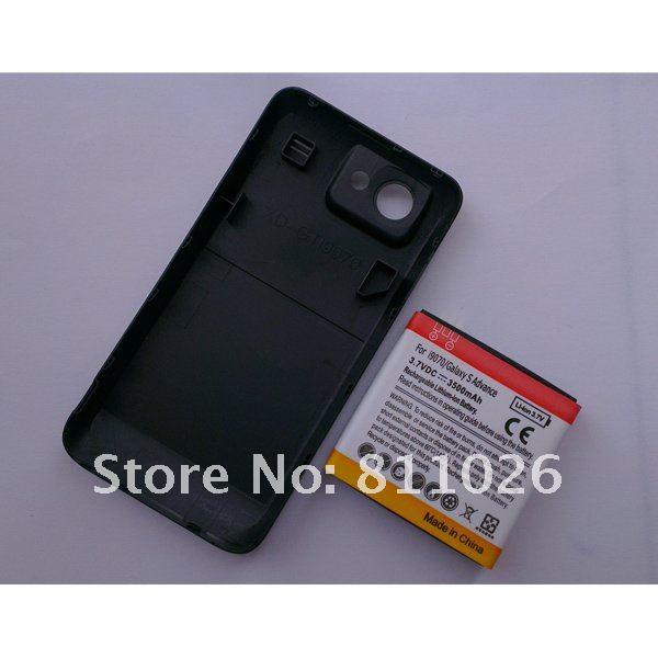 Аккумуляторная батарея повышенной емкости 3500mah с задней крышкой для Samsung Galaxy S Advanced/i9070,1шт