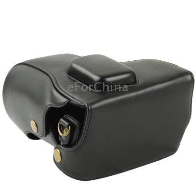 Кожаная сумка с ремешком для Samsung NX300