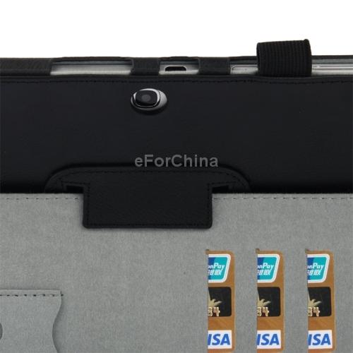 Кожаный чехол держатель для Samsung Galaxy Tab 3 (10.1) / GT-P5200