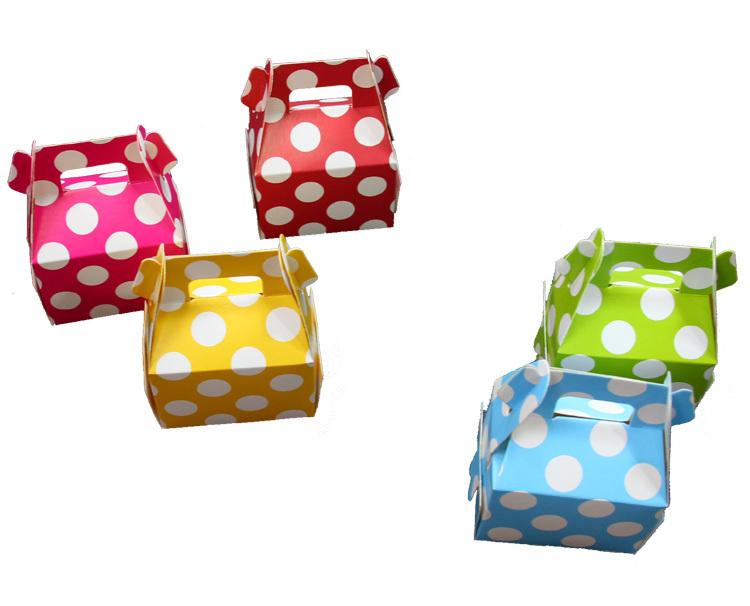Разноцветные подарочные коробки, 12 шт