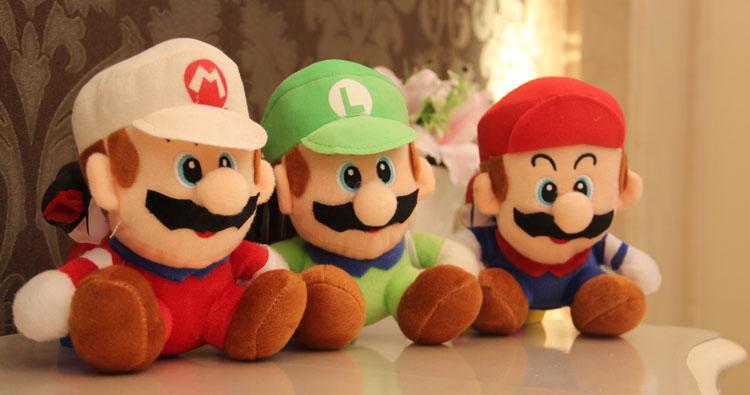 Плюшевая игрушка Super Mario