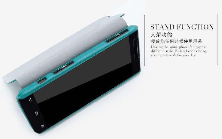Кожаный флип чехол для ZTE GRAND MEMO N5