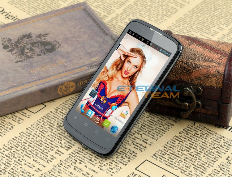 ZTE V889M - смартфон, Android 4.0.4, MTK6577 (1GHz), 4