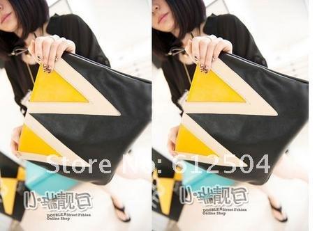 Дамская сумка-почтальонка из искусственной кожи