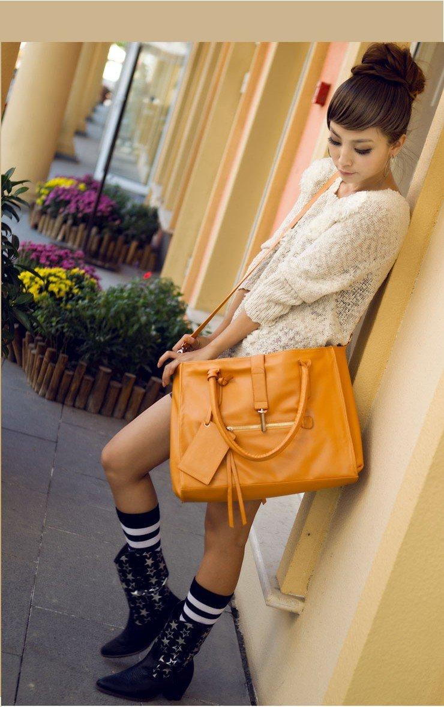 Дамские сумки из натуральной кожи в стиле тоте/хобо