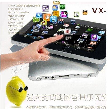 VX-3001 - планшетный компьютер, Android 4.0.3, 7