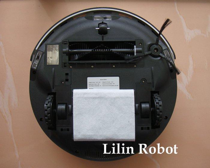 LL-307 - робот-пылесос, дезинфекция, мытье и чистка пола, ароматизация, виртуальная стена
