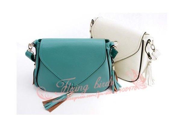 Модная женская сумка из полиуретановой кожи с кисточками на плечо WQ0619