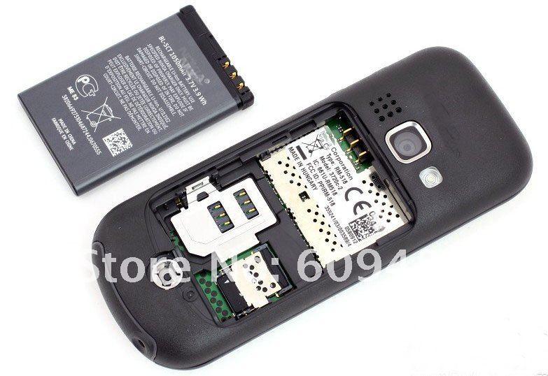 Nokia 3720 - мобильный телефон, IP54, 2.2