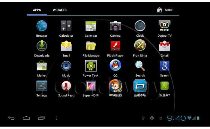 Bmorn V13 Pro - планшетный компьютер, Android 4.0.3, 7
