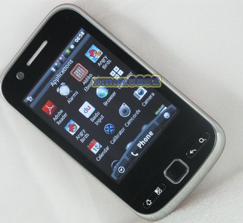F603 - смартфон, Android 2.3, MTK6516 (460MHz), 2.8