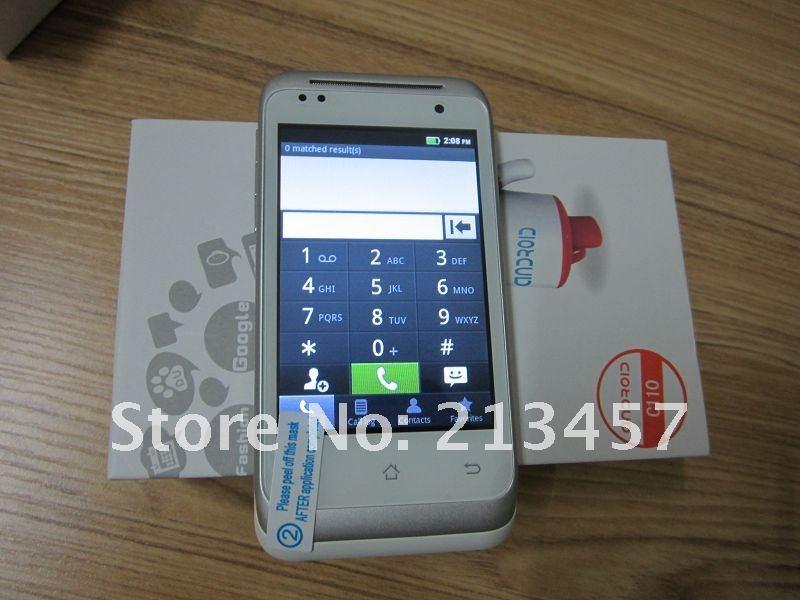 C110 - смартфон, Android 2.3.6, MTK6513 (650MHz), 3.5