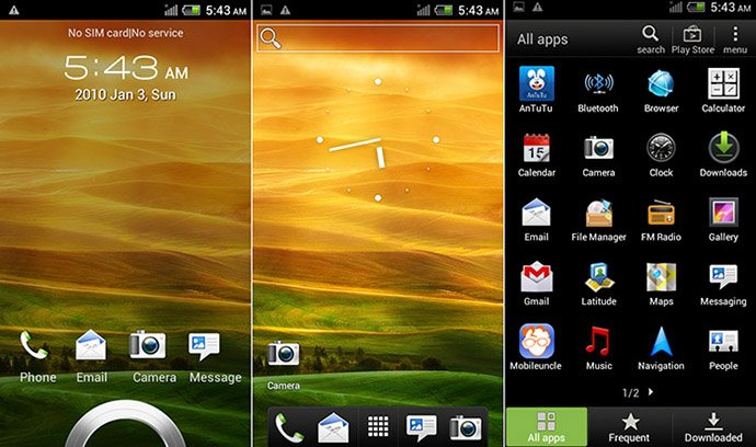 OneX S720e - смартфон, Android 4.0.4, MTK6575 (1GHz)/MTK6577 (1GHz), 4.7