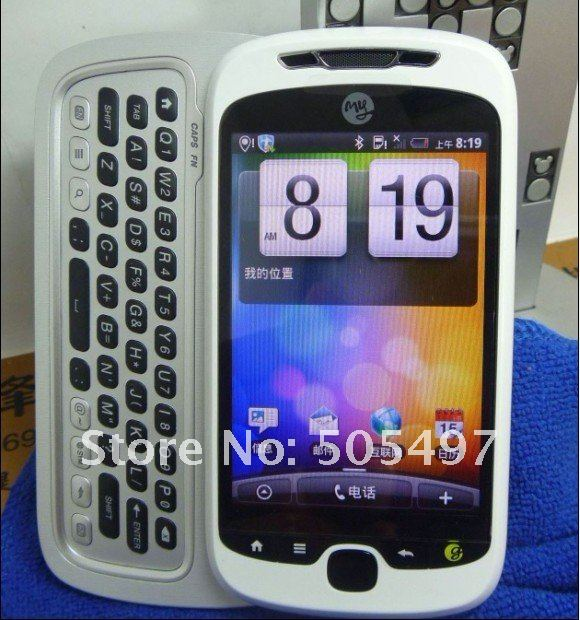 HTC MyTouch 3G - смартфон, Android 2.2, 600MHz, 3.4