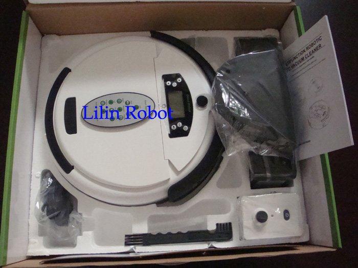 LL-277 - робот-пылесос, жк-дисплей, ароматизация воздуха