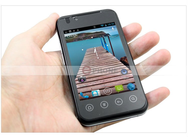 B3000s - смартфон, Android 4.0.4, MTK6515 (1GHz), 3.5