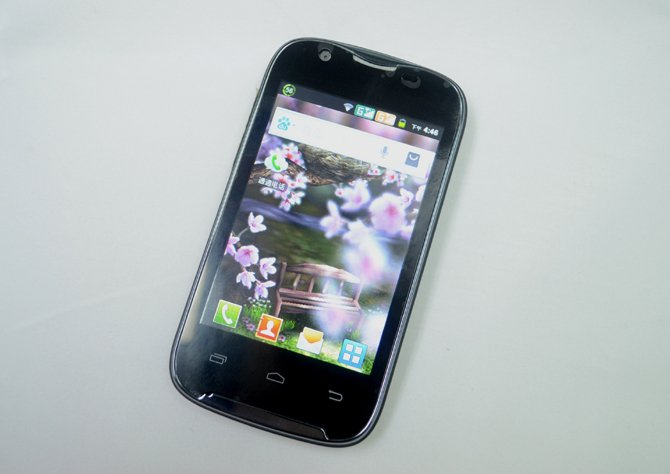 A109G - смартфон, Android 2.3.6, MTK6515 (1GHz), 3.5