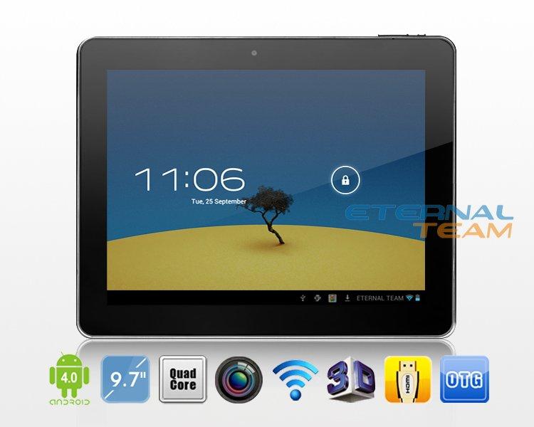 Amoi Q90 Dual Core - планшетный компьютер, Android 4.0.4, 9.7