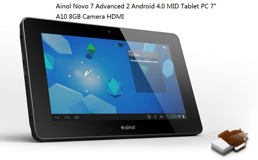 Ainol Novo 7 Advanced 2/II - планшетный компьютер, Android 4.0.3, 7